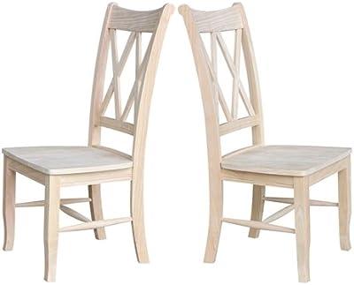Amazon.com: Better Homes and Gardens - Juego de 2 sillas de ...
