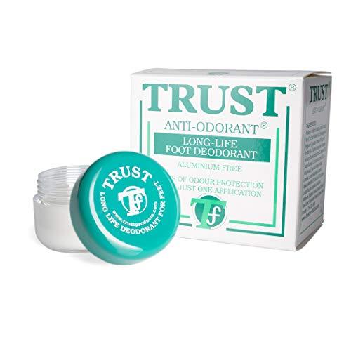 Desodorante para pies Trust,elimina el olor durante mucho tiempo