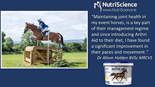 PlaqueOff NutriScience   ArthriAid Joint Supplement Powder 1.2 kg   For Horses  Joints and Mobility