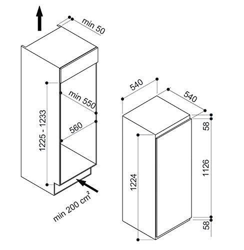 Hotpoint U 12 A1 D/HA Integrado Vertical 120L A+ Blanco ...