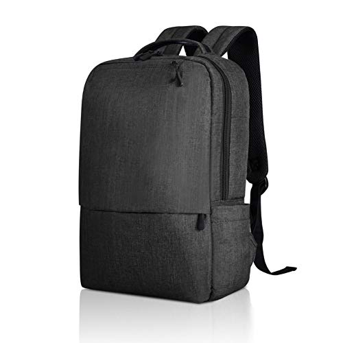 17'' Laptop Backpack Men Women Anti Theft Carry Backpack Travel Commuter Backpack School College Campus Urban City Backpack Waterproof Ultralight Classic Casual Daypack Backpack Office Student Black