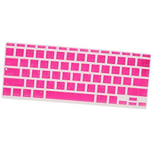 IPOTCH Silkon Tastatur-Staubschutzhaube für 11 Zoll MacBook Air A1370 A1465, US-Thailändisch-Layout