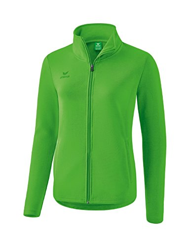 Erima Damen Basic Sweatjacke, Green, 44