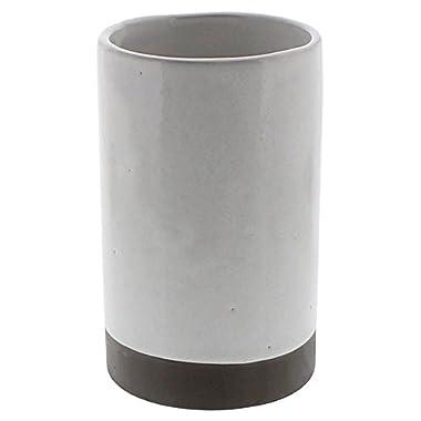 Retro Classic Ceramic Wine Bottle Chiller | White Cooler Vintage Vase