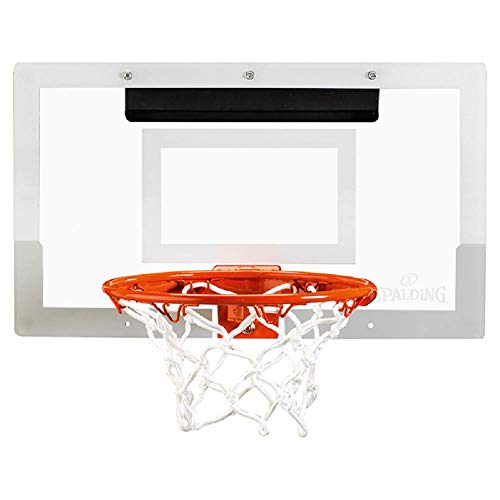 Spalding Slam Jam - Tabla de baloncesto (talla única), color transparente