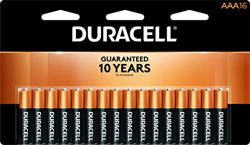 Duracell  CopperTop AAA Alkaline Batteries  long lasting allpurpose Triple A battery for household and business  16 Count