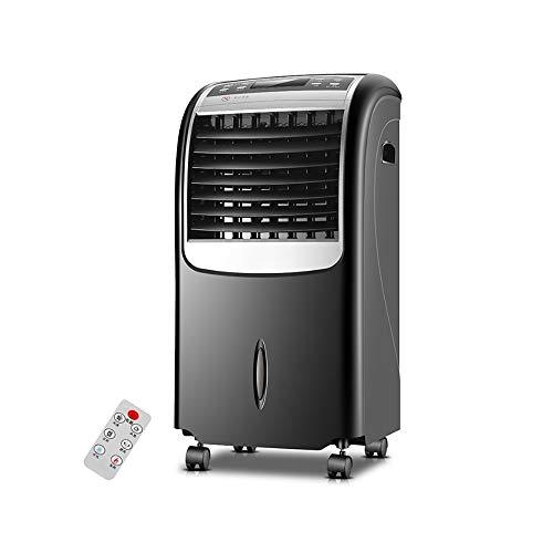 HANSHAN Mobile Klimageräte Personal Space Klimaanlage Evaporative Luftkühler, mit Kühlung und Heizung, Fernbedienung, 15-Stunden-Timer-Funktion, 3 Windgeschwindigkeiten, 8-Liter-Wassertank, Leistung