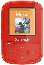 SanDisk Clip Clip Sport Plus  - Reproductor MP3 , 16GB, Rojo