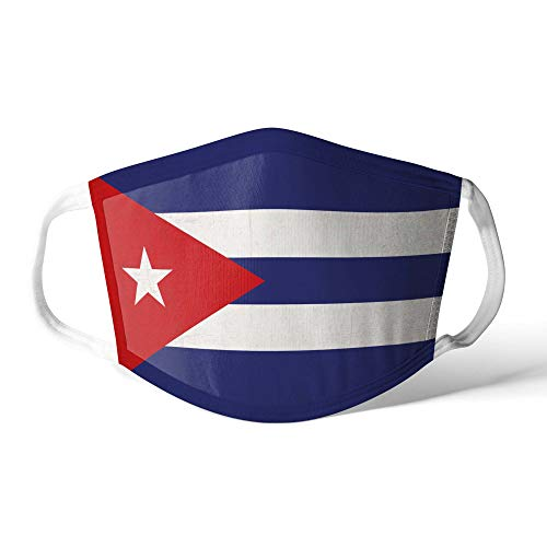 M&schutz Maske Stoffmaske Mittel Amerika Flagge Kuba/Kubanisch Wiederverwendbar Waschbar Weiches Baumwollgefühl Polyester Fabrik