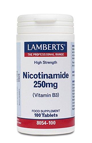 LAMBERTS NICOTINAMIDA 250 mg. 100 comp.