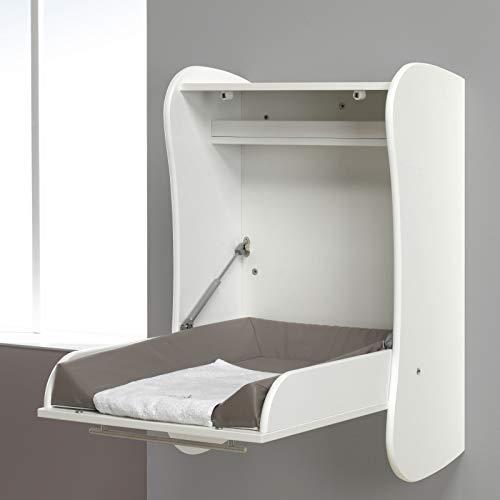 ALFRED & Compagnie Tisch Hat Wand-Wickeltisch weiß