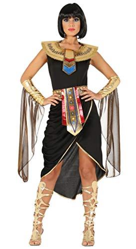 Fiestas Guirca Costume da Regina egiziana Nefertari Cleopatra Nefertiti Donna
