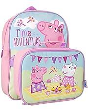 Peppa Pig Zaino per bambini e portapranzo Rosa