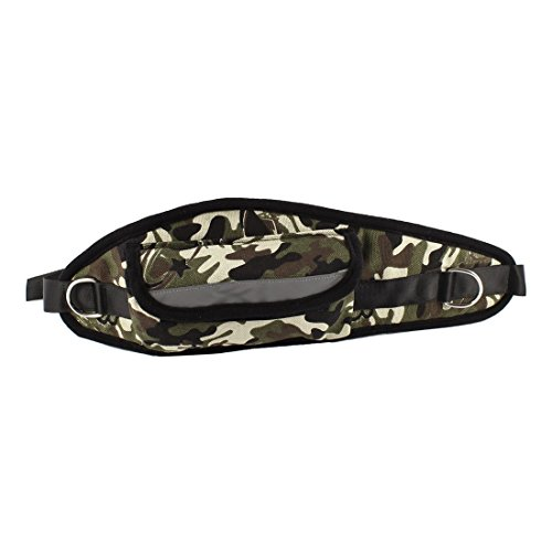 Sourcingmap Camouflage patroon verstelbare release gesp hond Leash taille Pack
