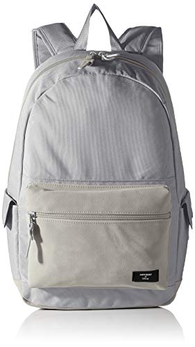 Superdry Womens Suedette Block Edition Montana Rucksack, Ice Grey, OS