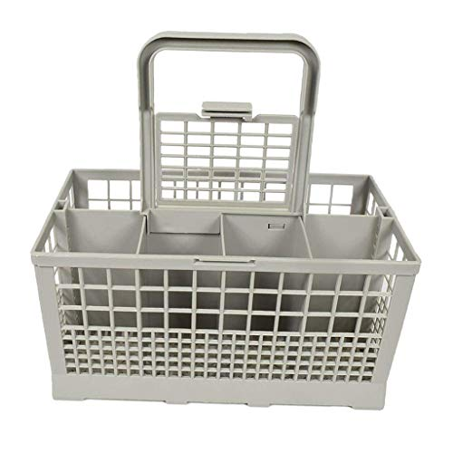 Fenteer Panier à Couverts Universel Compatible avec Lave-vaisselles, Whirlpool, Bosch, Maytag, KitchenAid, Maytag, Samsung, GE