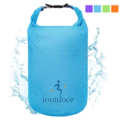 Waterproof Dry Bag Lightweight 2L/5L/10L/20L/40L/70L,Roll Top Dry Compression Sacks Small Large Keeps Gear Dry for Kayaking,Beach,Rafting,Boating,Hiking,Swimming,Camping,Travelling,Sailing (Blue, 40L)