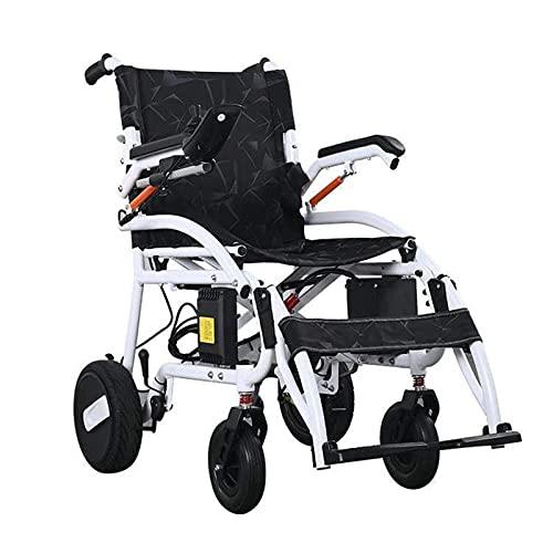 FGVDJ Thrive Mobility Fold and Travel Elektrorollstühle für Erwachsene Älterer Leichter Elektrorollstuhl Motorisiert