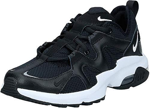 Nike Damen WMNS AIR MAX GRAVITON Laufschuhe, Schwarz (Black/White 001), 39 EU