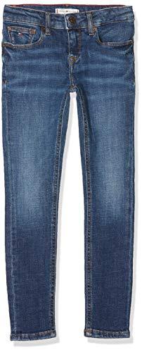 Tommy Hilfiger Tommy Hilfiger Mädchen Nora RR Skinny CRBST Jeans, Blau (Creston Blue Stretch 911), 92 (Herstellergröße: 74)