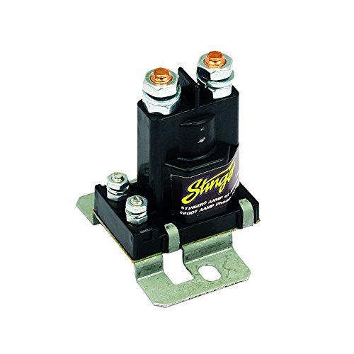 commercial Stinger SGP38 80-AMP Battery Isolator and Relay, Black battery isolator