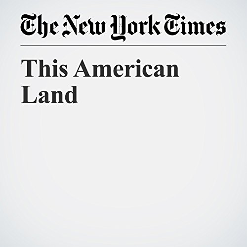 This American Land audiobook cover art