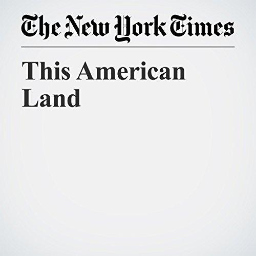 This American Land copertina
