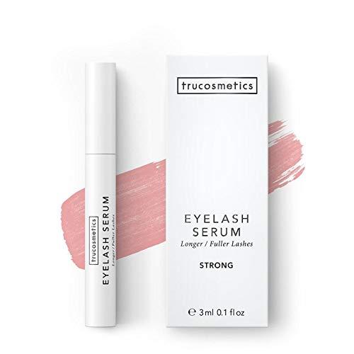 trucosmetics - EYELASH SERUM STRONG | hochkonzentriertes Wimpernserum | lange und dichte Wimpern | 3 ml