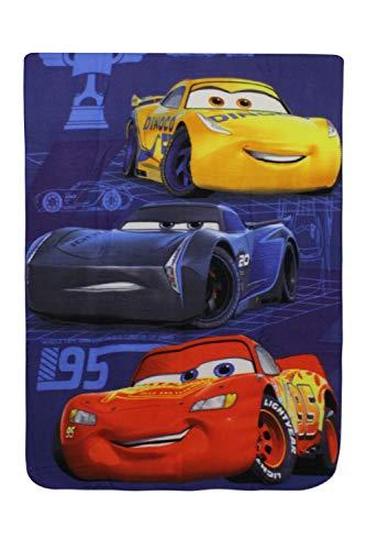 SETINO 720-799 Disney Cars Fleece Decke Kuscheldecke Tagesdecke 100x140cm