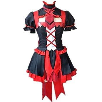 suhero Rory Mercury Cosplay Costumes Uniform Outfit Anime Halloween Christmas Costume  Female M