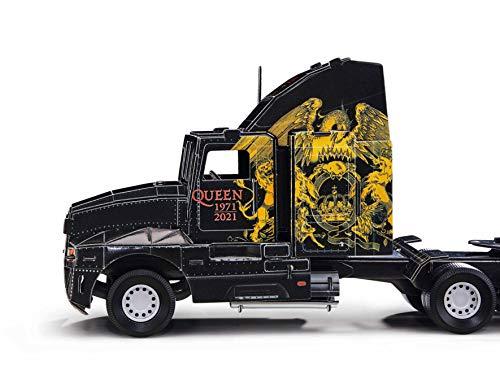 Revell 3D Puzzle 00230 Queen Tour Truck Die Welt in 3D entdecken, Bastelspass für Jung und Alt, farbig