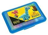Idena 68125 – Caja de Amasado con 20 Barras de plastilina, en Caja Azul de Almacenamiento, Divertida...