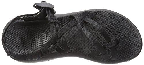 Chaco ZX2 - Sandales classiques athlétiques pour femme, Noir (noir), 39 EU
