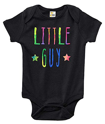 Huahai Little Guy Baby Bodysuit Cute Baby Clothes for Infant Boys