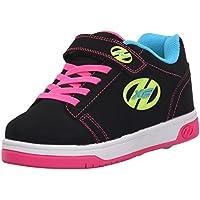 Heelys X2 Dual Up, Zapatillas para niñas, Negro (Black/Neon/Multi), 31 EU