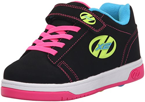 Heelys X2 Dual Up, Zapatillas para niñas, Negro (Black/Neon/Multi), 32 EU