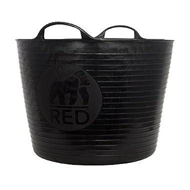 Tubtrugs SP42GBK Flexible Black Gorilla Large 38 Liter/10 Gallon Capacity