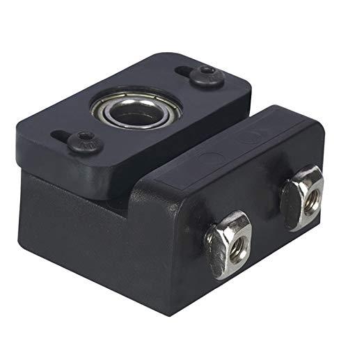 Nrpfell Z Axis Lead Screw Fixing Block Aluminum Block 3D Printer Lead Screw Fix Mount for CR-10 Ender 3 Z-Rod Bearing Holder