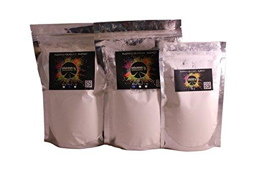 Soluciones Luminiscentes S.L. Plástico en Polvo Blanco para Base - 1kg