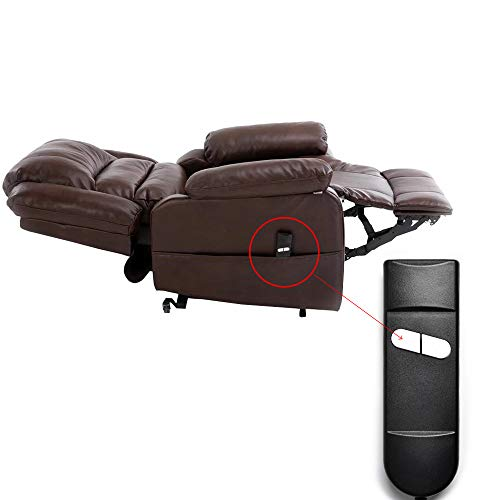 CUGLB Two Button 5 Pin Lift Chair or Power Recliner Hand Control, Recliner Replacement Parts for Okin Limoss Lazboy Pride Catnapper etc.