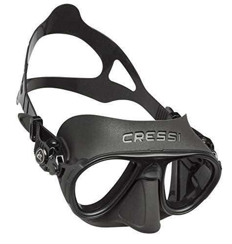 Cressi Sub S.p.A. Calibro Masque de Plongée Mixte Adulte, Noir