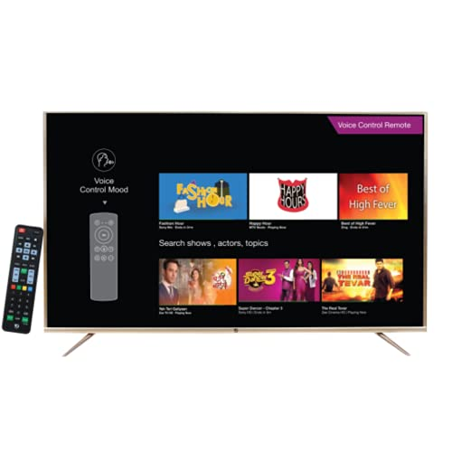 VG 164 cm (65) Ultra HD (4K) LED AI Smart Android TV