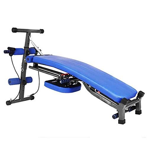 LYDIANZI Máquina de Ejercicios Abdominales Máquina de Fitness de Sit-Ups Casa Plegable Máquina Abdominal Multifuncional para Adelgazar Dispositivo de pérdida de Peso