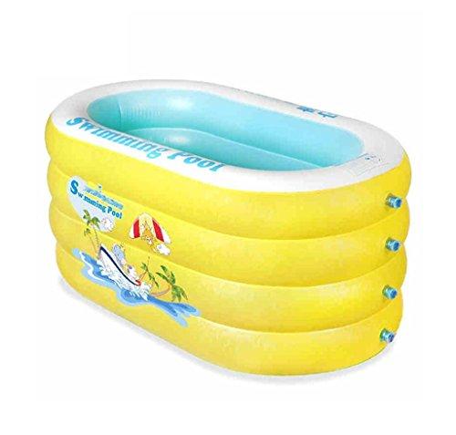 Baignoire gonflable, bébé piscine épaississement d'isolation des ménages bébé seau de natation