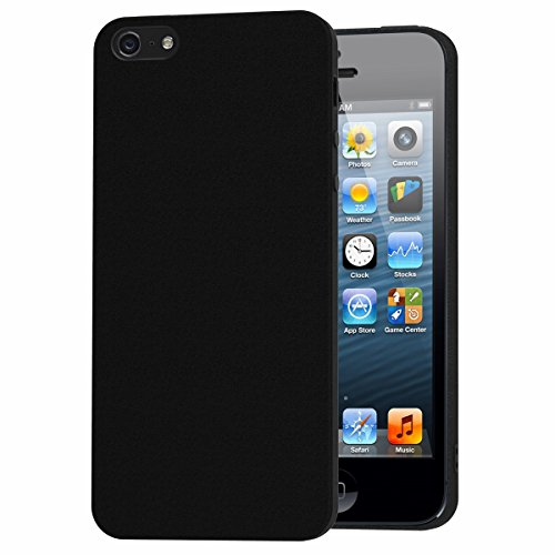 Cover iPhone SE, iVoler Cover iPhone SE / 5 / 5S Silicone Case Molle di TPU Sottile Custodia per iPhone...