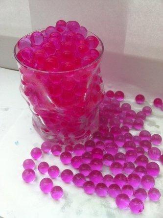 Aqua Perlen Bunte Blumenerde 100 Gramm ergibt 10 Liter Substrat pink (Grundpreis EUR 79,90/Kg)
