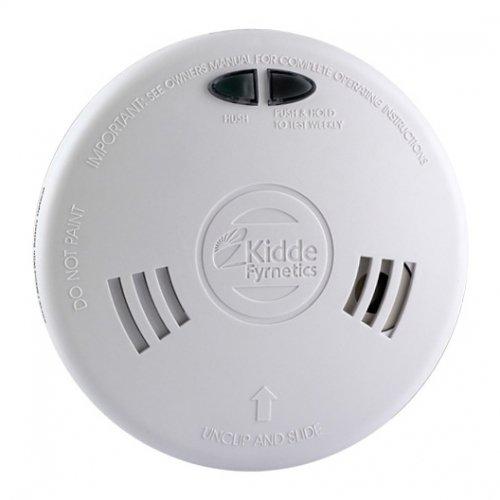 Kidde Fyrnetics 1SFWR Slick Fast Fit Ionisation Smoke Alarm Detector with...