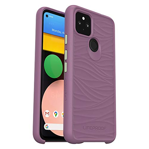 LifeProof Wake Series Case for Google Pixel 4a 5G (5G ONLY, not Compatible with 1st gen Pixel 4a) - SEA Urchin (Berry Conserve/Desert SAGE) -  77-80178