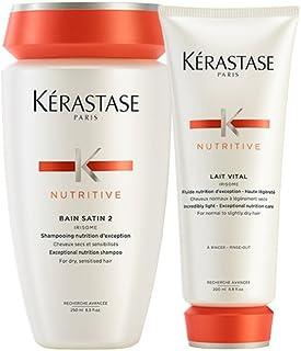 Kérastase Bain Satin Lait Vital Kit composto da shampoo e balsamo