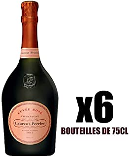 X6 Champagne Brut Rosé 75 cl Laurent-Perrier AOC Champagne